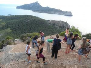 L'itinerari fins a la Trapa ofereix unes vistes sensacionals del ponent de la costa de Tramuntana.