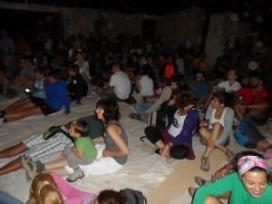 La gent va venir amb ganes de passar-s'ho bé. Grans i petits aguantaren fins ben entrada la nit.