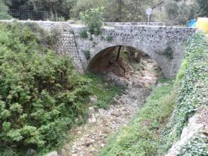 Pont sobre el torrent de Valldemossa, a s'Estret.