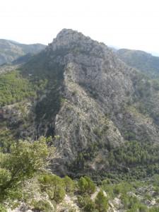 Puig de na Fàtima (650m).