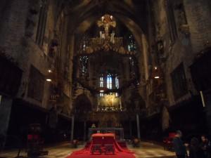 El bessó de la Seu: la capella de la Trinitat.