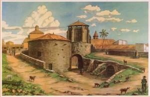 Porta de Santa Margalida.
