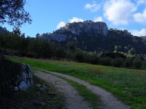 Es Castellot d'Orient, des de la possessió de Cal Reis.