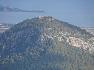 El Puig de Maria i la Punta de l'Avançada al fons.