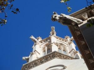 Gàrgoles de l'església de Santa Eulàlia.