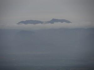 El Puig Major des del puig de Cura.