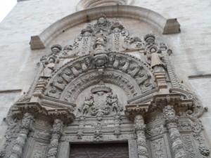 Portal barroc de l'església de Monti-sion de Palma (1683).