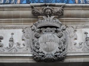 L'escut de la ciutat de Palma.