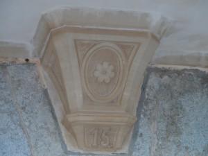 Escut dels Olesa, propietaris de la possessió entre finals del segle XVI i XVII.