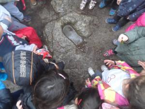 En el coll de la Talaieta hem escoltat la llegenda del cavall del rei Jaume I el Conqueridor.