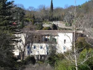 La Granja d'Esporles, antiga alqueria musulmana d'Alpic, als peus del Castellet.