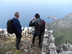 Mirador des Garriguer, 833 metres d'altura.