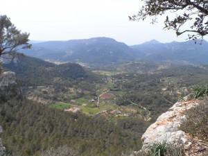 La vall de Son Cabaspre.