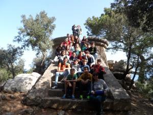 Els alumnes de segon d'ESO del Col·legi Pedro Poveda.