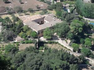 Les cases de Son Moragues des del mirador de na Torta.