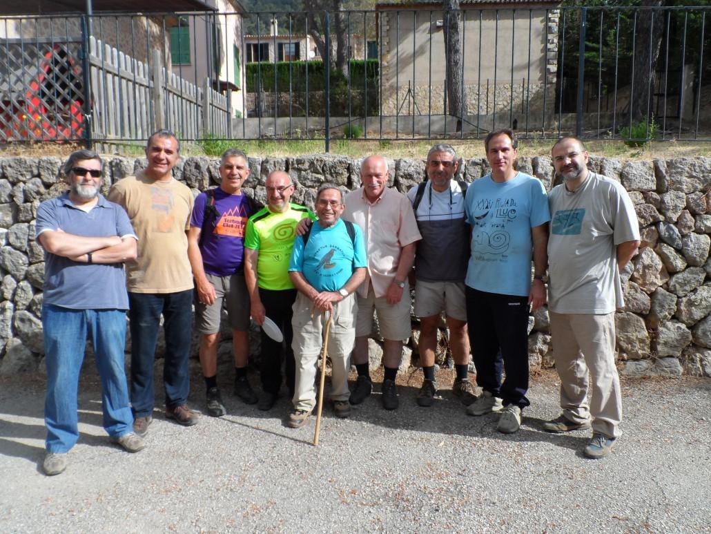 Organitzadors i membres del consistori valldemossí.