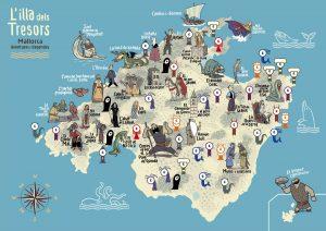 Excursió l'Illa del Tresor de Mallorca Literària